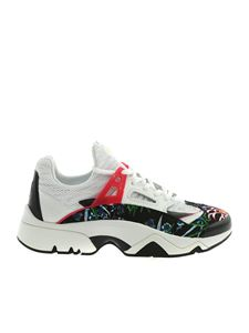Kenzo - Sonic sneakers in white and black