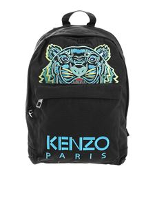 Kenzo - Tiger embroidery backpack in black