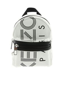 Kenzo - KENZO logo mini backpack in white