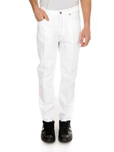 Golden Goose - Happy jeans in white