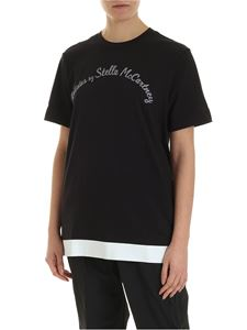 Adidas by Stella McCartney - Logo T-shirt in black