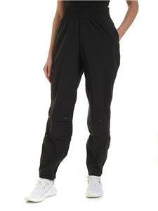 Adidas by Stella McCartney - Performance stretch pants in black