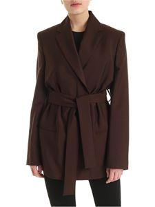 Acne Studios - Double-breasted jacket in brown