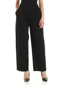 Acne Studios - Cotton twill pants in black