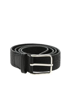 Orciani - Micron stretch effect belt