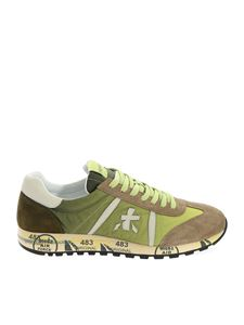 Premiata - Lucy sneakers in shaded of green and mud