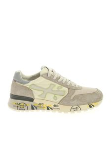 Premiata - Mick sneakers in beige and ivory color
