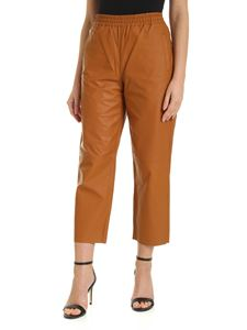Pinko - Toast pants in leather color