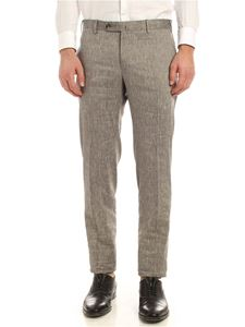 PT01 - Deluxe comfort wool pants in melange grey