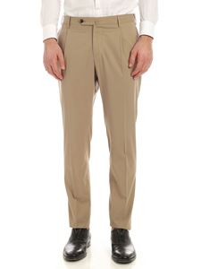 PT01 - Deluxe cotton pants in dove grey color