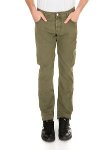 Jacob Cohën - 5 pocket trousers in army green