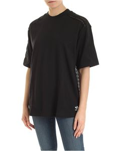 Adidas Originals - Lace-back t-shirt in black
