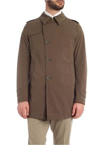 Herno - Trench Rain Collection verde militare