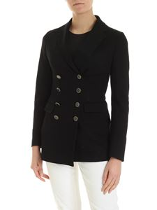 Tagliatore - Alyx double-breasted jacket in black