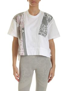 Adidas by Stella McCartney - Graphic t-shirt in white