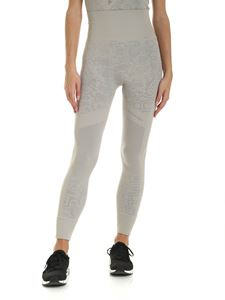 Adidas by Stella McCartney - Essential Logo leggings in dove grey