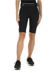 Adidas by Stella McCartney - Cyclist Ovkn T H.R. shorts in black