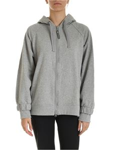 Adidas by Stella McCartney - Essentiel hoodie in melange grey