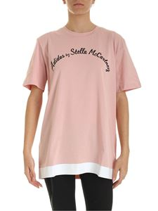 Adidas by Stella McCartney - Logo T-shirt in pink