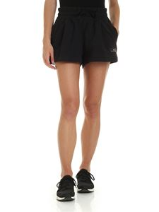 Adidas by Stella McCartney - Essential sports shorts with logo in black