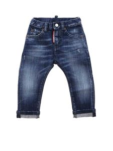 Dsquared2 - Turn-up jeans in blue