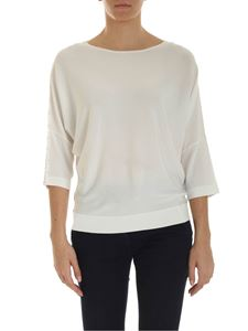 Kangra Cashmere - Wide sleeves shirt in white
