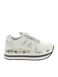 Premiata - Beth sneakers in ivory color