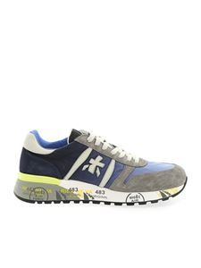 Premiata - Lander sneakers in blue and grey