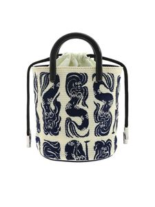 Kenzo - Mermaids mini bag in blue and white