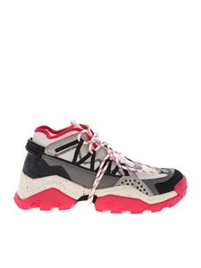 Kenzo - Inka sneakers in grey and pink