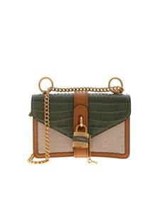Chloé - Aby green bag with coco detail