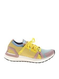 Adidas by Stella McCartney - UltraBoost 20 S sneakers in yellow and pink