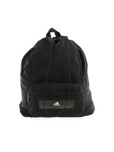 Adidas by Stella McCartney - Drawstring backpack in black