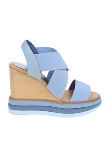Paloma Barceló - Filipinas sandal in light blue