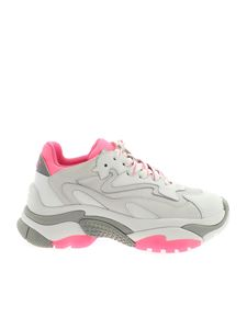 Ash - Addict sneakers in white and fuchsia