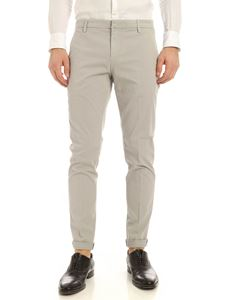 Dondup - Gaubert logo pants in grey