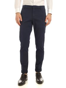 Dondup - Gaubert logo pants in blue