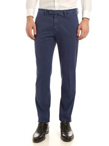 Briglia 1949 - Slash side pockets pants in blue