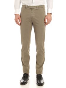 Briglia 1949 - Slash side pockets pants in mud color