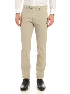 Briglia 1949 - Slash side pockets pants in beige