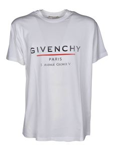 Givenchy - Oversized GIVENCHY Label T-shirt in white