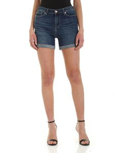 7 For All Mankind - Boy shorts in blue