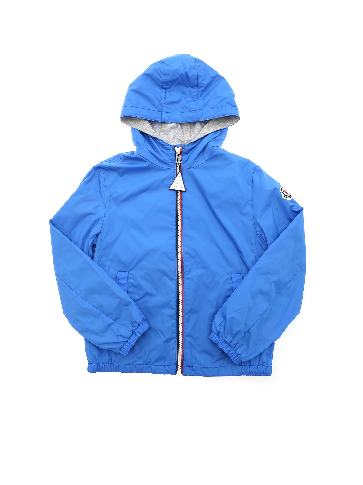 Moncler Jr Cottons NEW URVILLE JACKET IN TURQUOISE