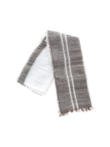 Peserico - Grey and white scarf