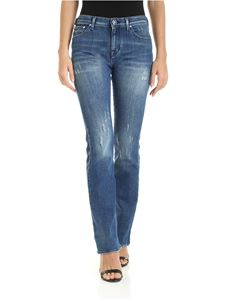 Jacob Cohën - Kimberly jeans in destroyed blue