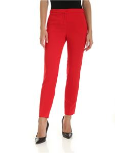 Ermanno by Ermanno Scervino - Red crepe trousers