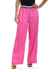 Ermanno by Ermanno Scervino - Branded elastic pants in fuchsia