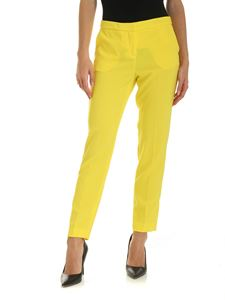 Ermanno by Ermanno Scervino - Yellow crepe pants