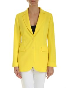 Ermanno by Ermanno Scervino - Single-breasted jacket in yellow