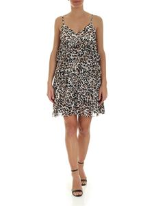 Ermanno by Ermanno Scervino - Flounce animal print dress in white